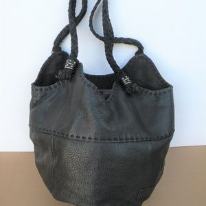 SAK INDIO LEATHER BUCKET BAG